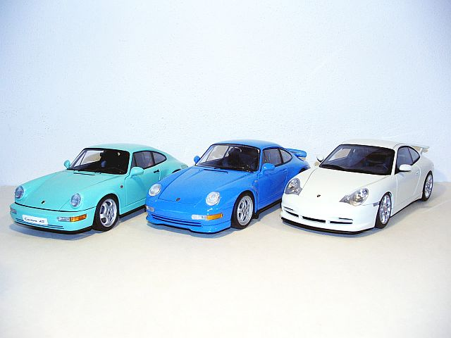 green 964 Carrera RS - Diecast