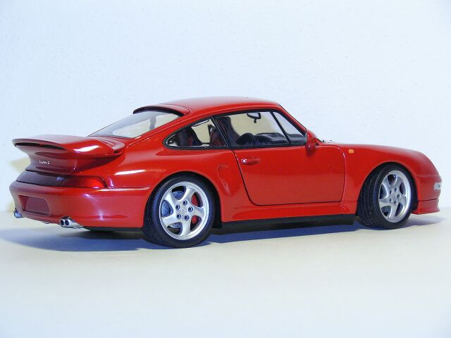 Porsche Turbo S Model Car